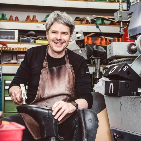 Orthopaedie-Schuhtechniker Thomas Fetz